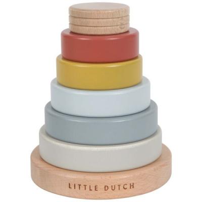Little Dutch Houten Stapeltoren Pure & Nature