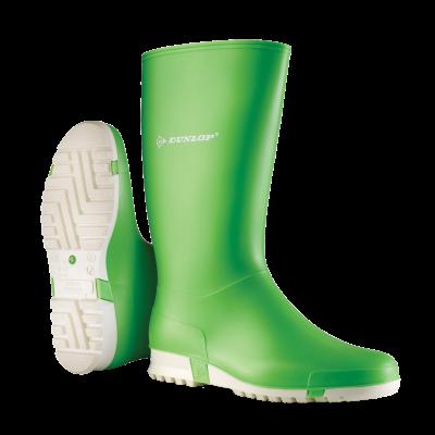 Dunlop Dames/Heren/Kinder Sportlaars Lichtgroen (OP=OP)