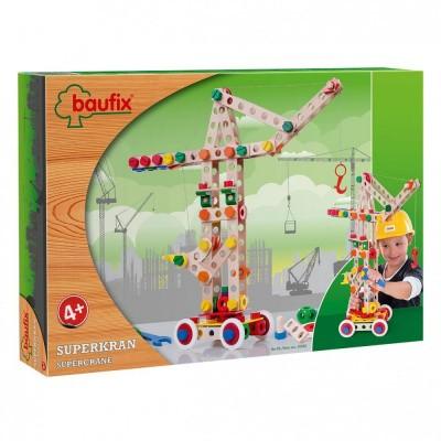 Baufix Super Kraan Bouwconstructie Set - 158 delig (10420)