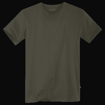 Foto van Terrax Heren Basic T-shirt Olijfgroen