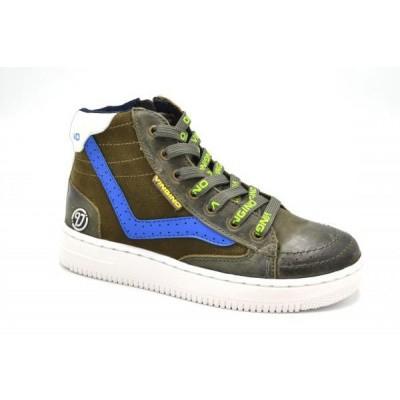 Vingino Leren Sneaker Mar Army Green (OP=OP)