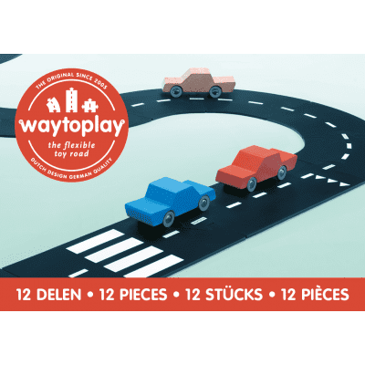 Foto van Waytoplay Ringweg, Ring Road - Flexibele Wegdelen Set 12 delig