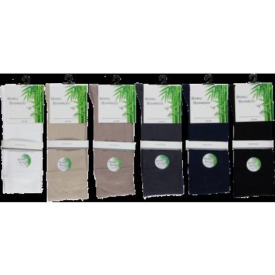Boru Bamboo Sokken 2301 Medium Grijs