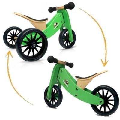 Foto van Kinderfeets TinyTot Groen 2-in-1 Loopfiets