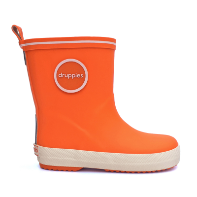 Foto van Druppies Fashion Boot 11023 Knaloranje Maat 20 t/m 39