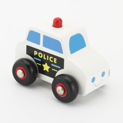 Viga Toys Houten Politie auto