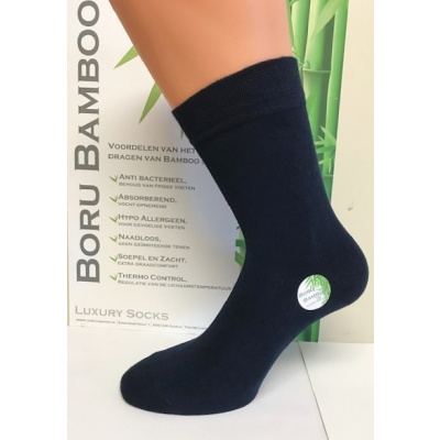 Boru Bamboo Sokken 2301 Blauw