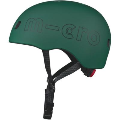 Foto van Micro Veiligheidshelm Deluxe Forest Green - Medium (52-56 cm)