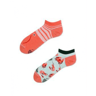 Many Mornings Frutti di Mare Mismatched Unisex Sneaker Sokken