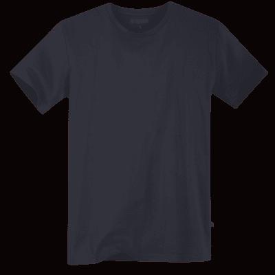 Foto van Terrax Heren Basic T-shirt Donkerblauw
