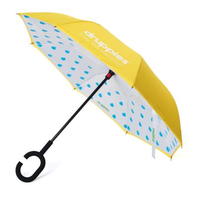 Foto van Druppies Paraplu Hardgeel (verkrijgbaar in 8 kleuren)