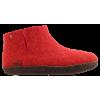 Afbeelding van Tofvel pantoffel rood 15242