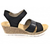 Rieker sandaal blauw 619B5-14