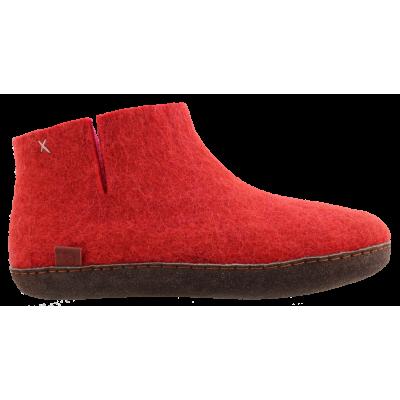 Tofvel pantoffel rood 15242