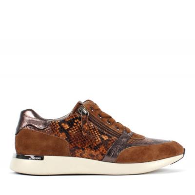Sioux sneaker cognac 64998