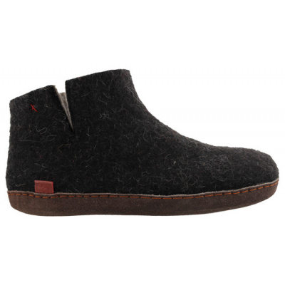 Tofvel pantoffel zwart 15242