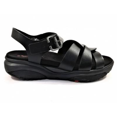 Xsensible sandaal zwart 30037.5.001
