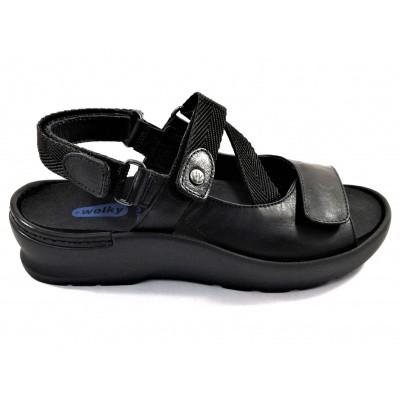 Wolky sandaal zwart 0392535