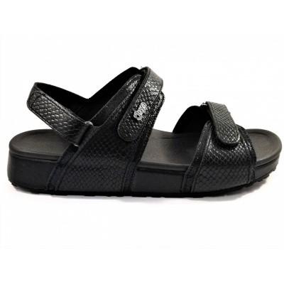Joya sandaal zwart Amalfi II black snake