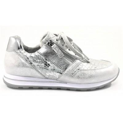 dc7516c9345 Gabor sneaker zilver combi 86.368.60 - Regeling Schoenen's shop