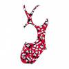 Afbeelding van Speedo meisjesbadpak Mickey red/white