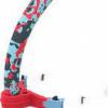 Afbeelding van Speedo Centre Snorkel Red/Blue/Grey