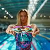 Afbeelding van Arena zwembril Airspeed mirror yellow-copper-silver