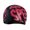 Afbeelding van Speedo badmuts slogan Print cap black/red