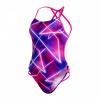 Afbeelding van Speedo damesbadpak Allover Freestyler pink-purple