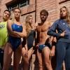 Afbeelding van Arena Team Stripe low waist zwart-wit