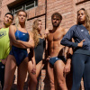 Afbeelding van Arena badmuts Icons Team Stripe assorti blauw
