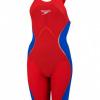 Afbeelding van Speedo wedstrijdbadpak LZR Pure Intent OB Red/Blue