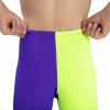 Afbeelding van Speedo high waist jammer violet/fluo yellow