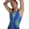 Afbeelding van Speedo wedstrijdbadpak LZR Pure Valor OB blue