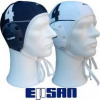 Afbeelding van Epsan waterpolo caps Innovator 26-er set (blue & white)