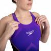 Afbeelding van Speedo wedstrijdbadpak Pure Intent OB purple-black