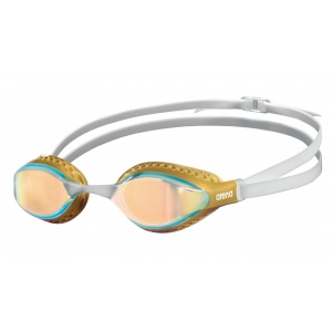 Arena zwembril Airspeed mirror yellow-copper-gold-multi