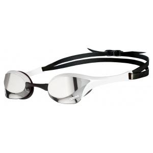 Arena zwembril Cobra Ultra Swipe Mirror zilver wit