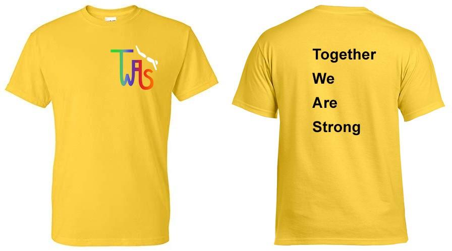 Erima T-shirt TWAS geel