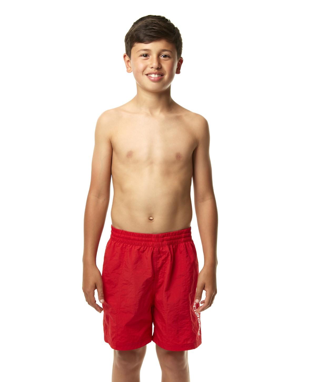 Speedo jongens Short Challenge 15 rood