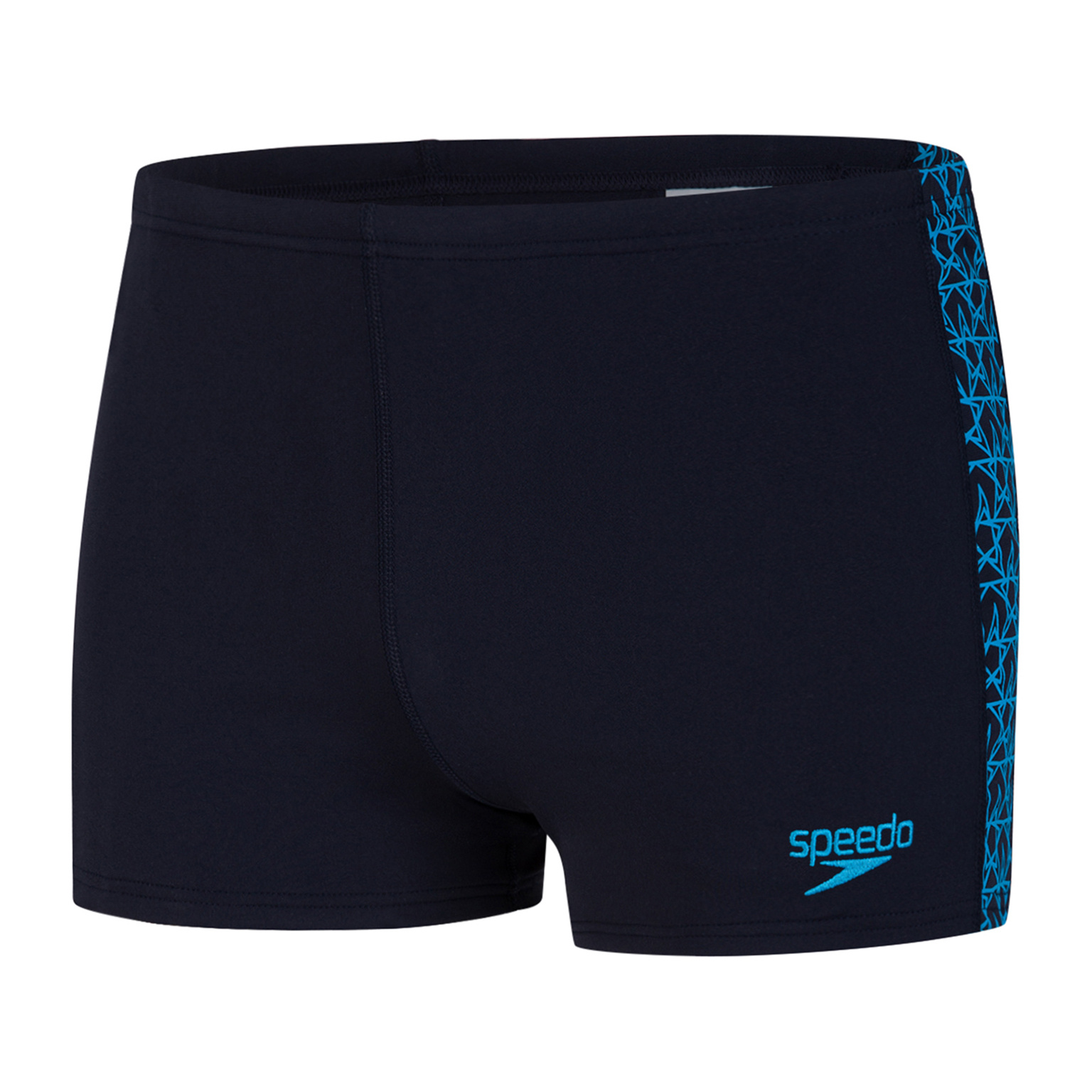 Speedo heren aquashort Boomstar splice navy-blue