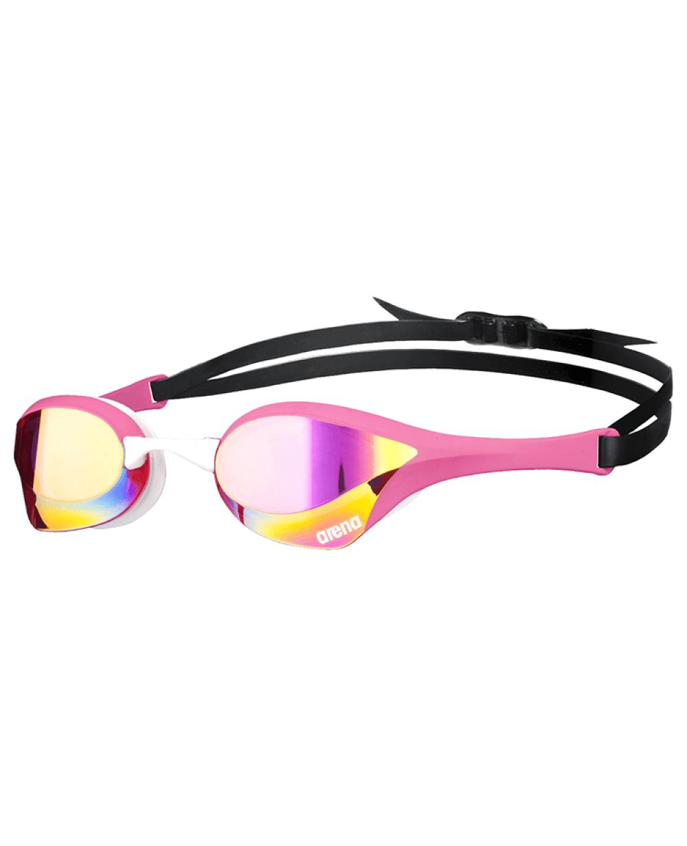 Arena zwembril Cobra Ultra Mirror pink-revo/pink/white