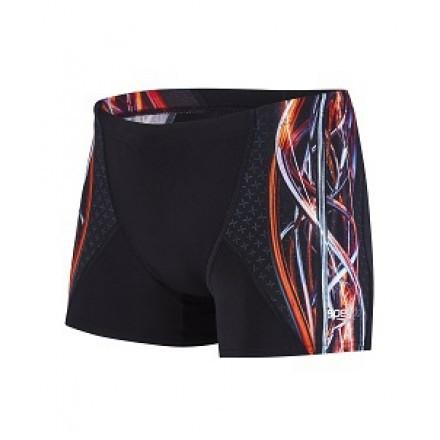Speedo aqua short Black/Red