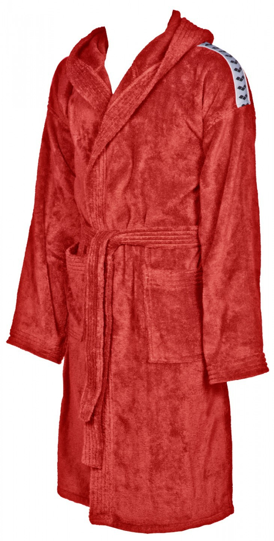 Arena badjas Core soft robe red-white