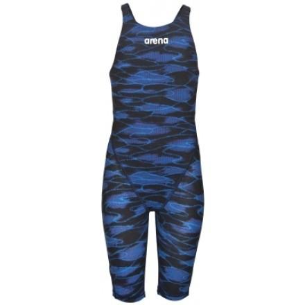 Arena meisjes Wedstrijdbadpak Powerskin ST 2.0 JR Limited Edition blue/royal