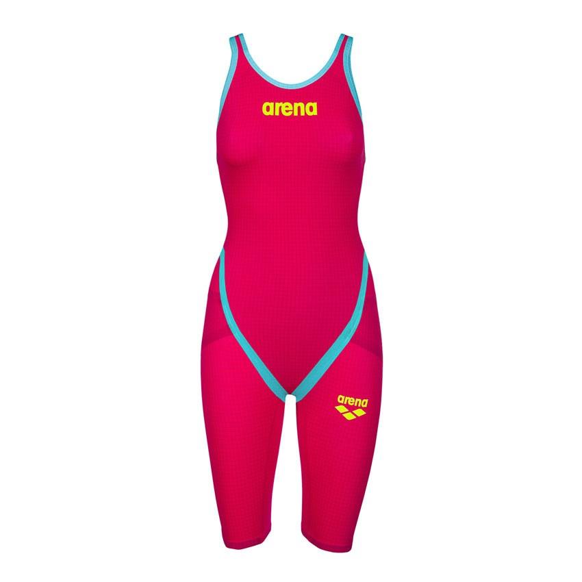 Arena Carbon Flex VX wedstrijdbadpak OB red/turquoise