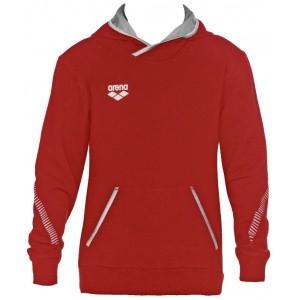 Arena hoodie hooded sweater rood