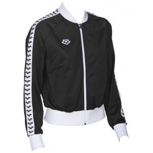 Arena relax team jacket black-white-black