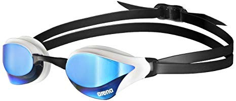 Arena zwembril Cobra Core mirror blue-white