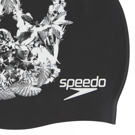 Speedo Siliconen Badmuts Schedel